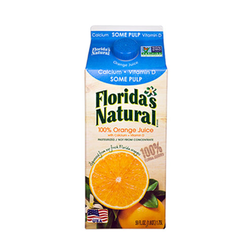 Florida's Orange Juice Some Pulp 1.5L