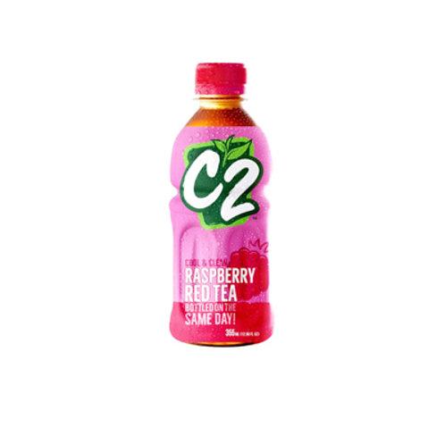 C2 Red Tea Raspberry 355ml