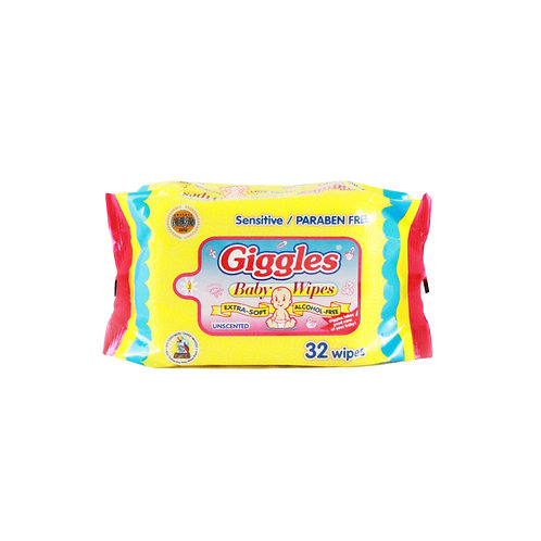 Giggles Baby Wipes 30+2sheets