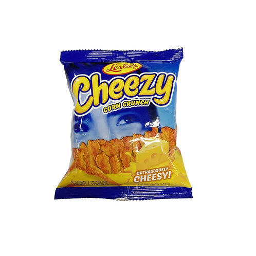 Cheezy Outrageously Cheesy Corn Crunch 24g