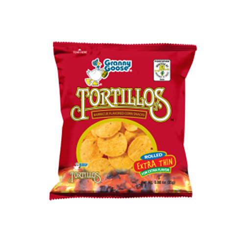 Granny Goose Tortillos Barbeque 25g