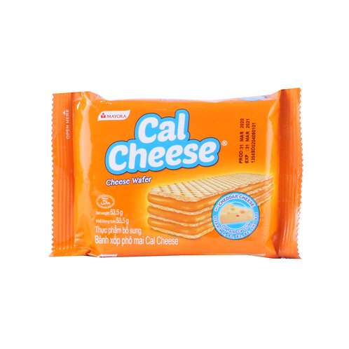 Cal Cheese Wafers 53.5g
