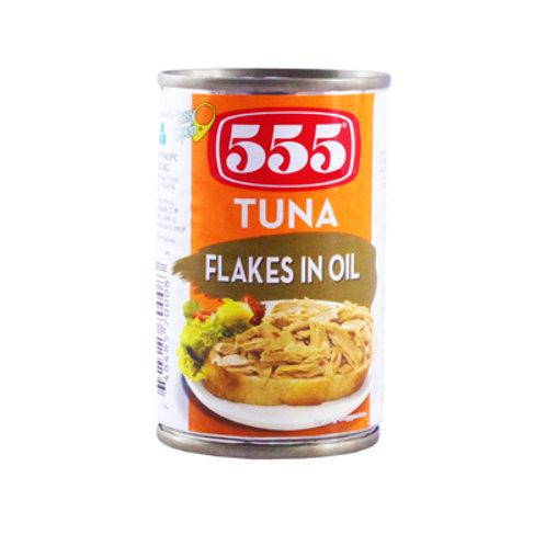 555 Tuna Flakes in Oil 155g