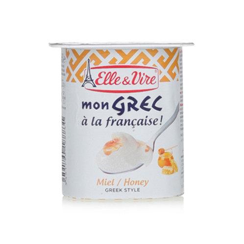 Elle & Vire Greek Honey Yogurt 125g