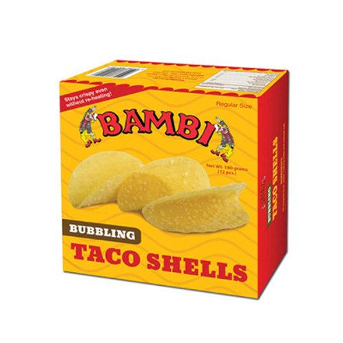Bambi Bubbling Taco Shell 12's