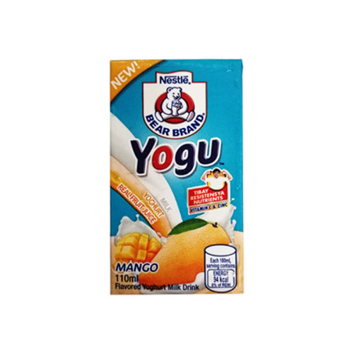 Bear Brand Yogu Mango Yoghurt Milk 110ml