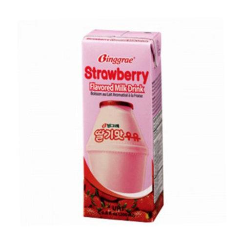 Binggrae Strawberry Milk Drink 200ml