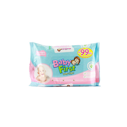 BabyFirst Baby Wipes 60s B2