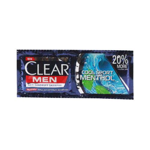 Clear Men Shampoo Cool Sport Menthol 12ml 6s