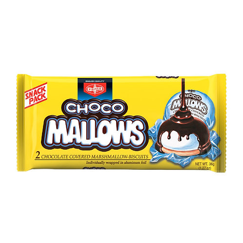 Fibisco Chocolate Mallows 2pcs