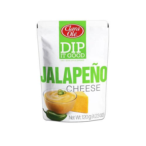 Clara Ole Dip It Jalapeno Cheese 120g