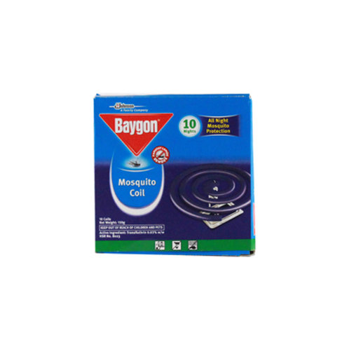 Baygon Mosquito Coil Lavender Jumbo 10s