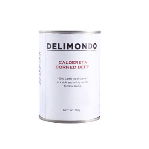 Delimondo Caldereta Corned Beef 380g