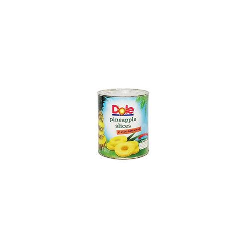 Dole Pineapple Sliced 822g