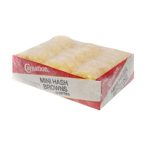 Carnation Mini Hashbrown 18s