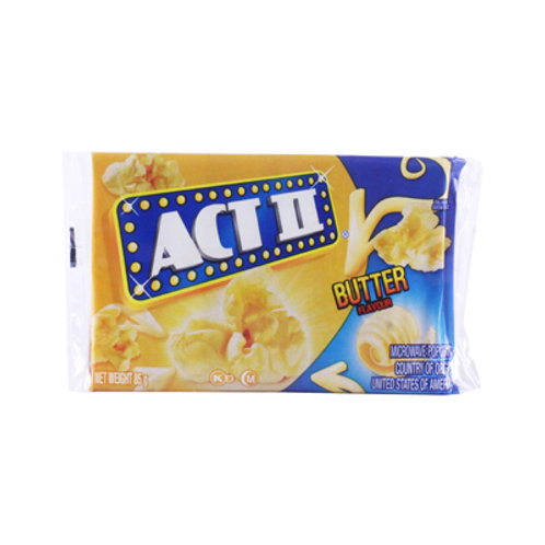 ACT II Microwave Popcorn Butter 85g