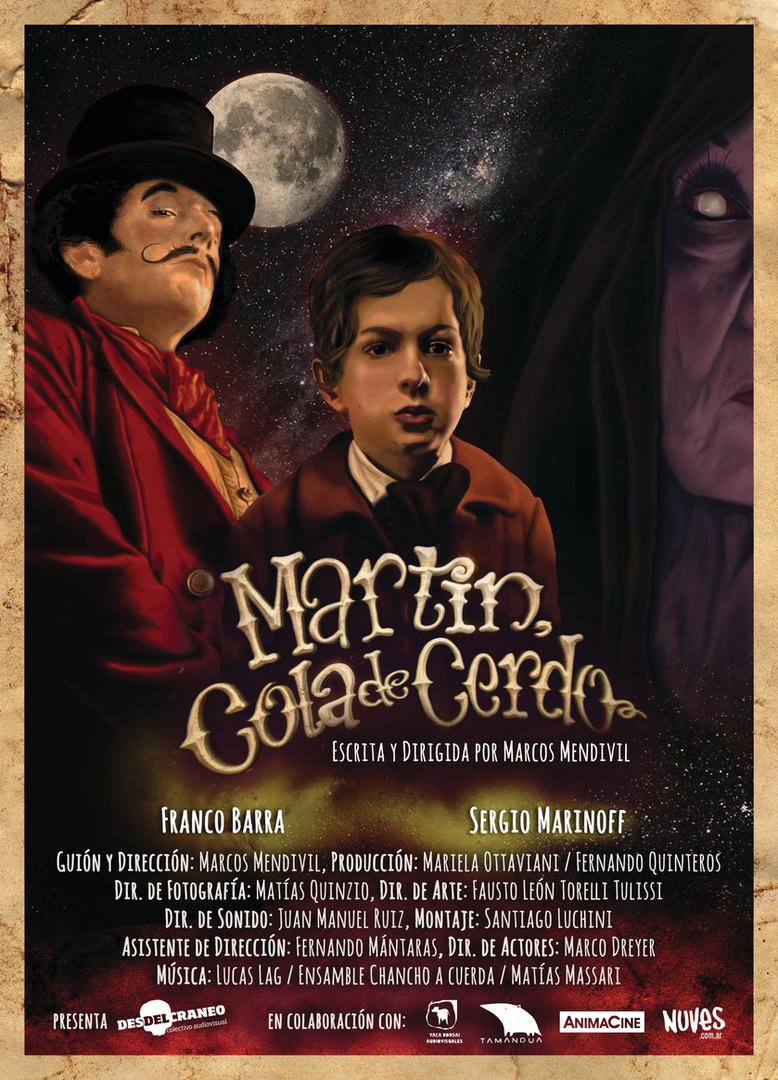 Afiche Martin Cola de Cerdo