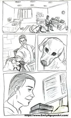 Science Lab Comic flashback