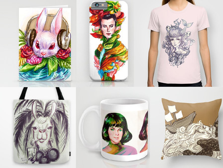 Prints, Phone Cases, Shirts, and More!!!