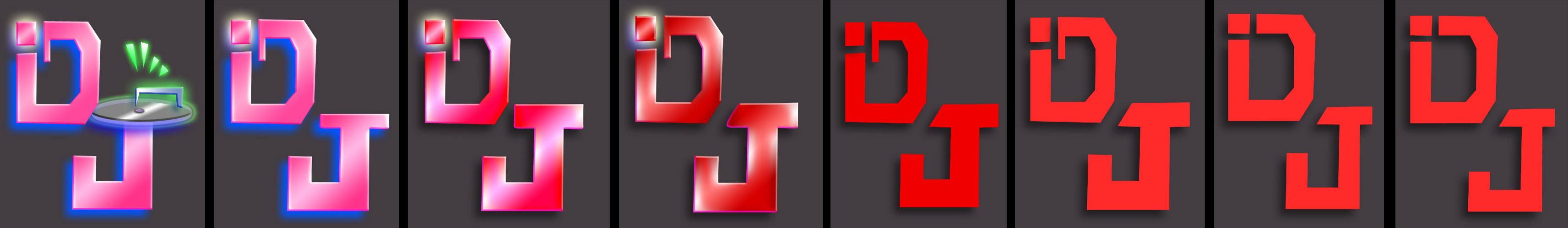 iDJ-Logo-Design-Progression
