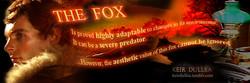 The Fox Banner