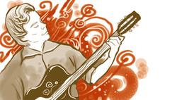 Guitarist Business Card Design