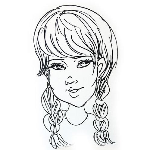 Caricature:  Quick Sketch (Digital)