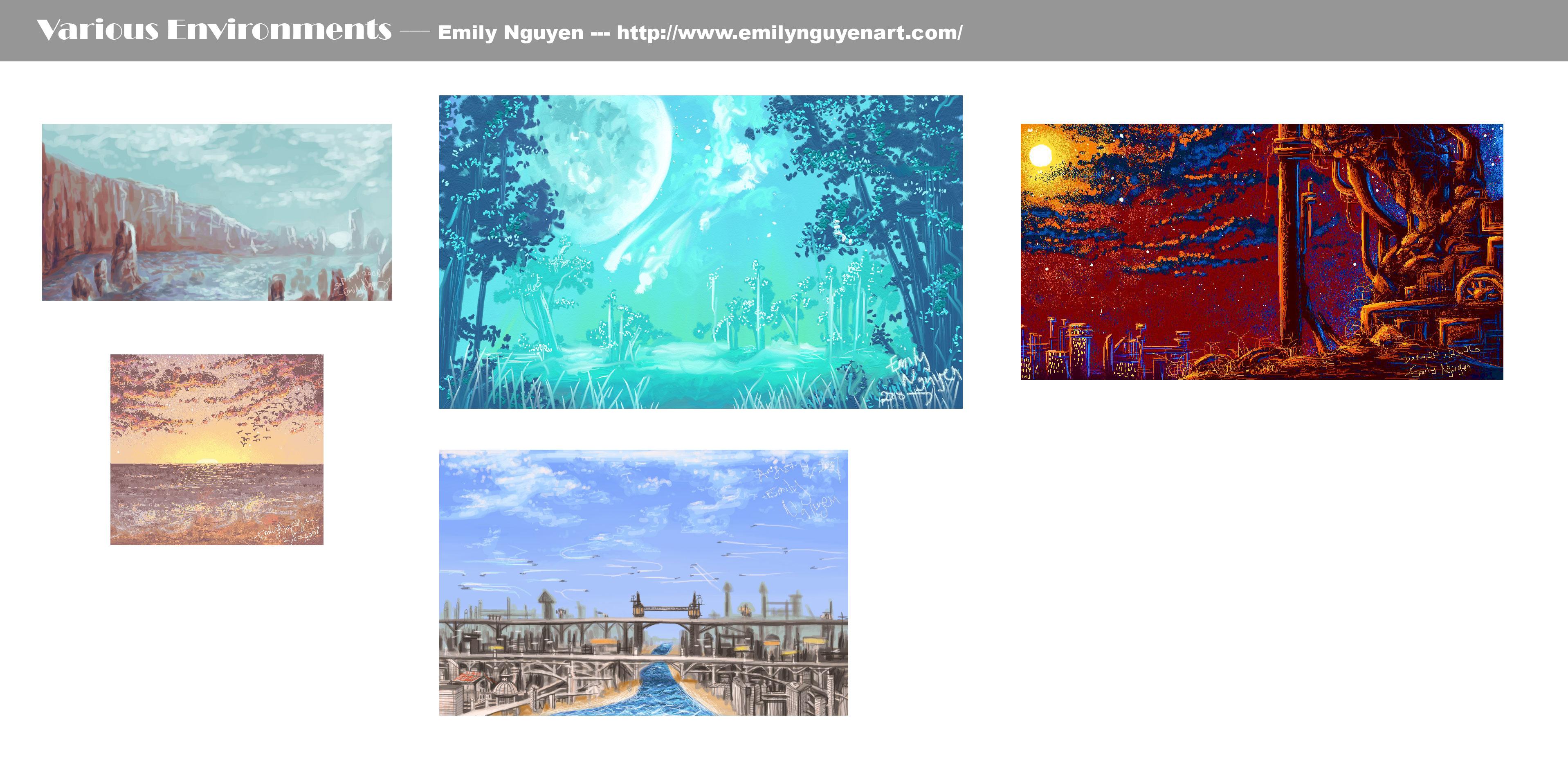 Various-Environments