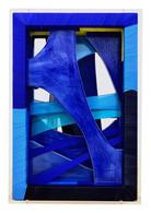 Granblu,fabric,ceramic,frames,acrylic,42.6(w)x62.2(h)x12.2(d)cm,2020