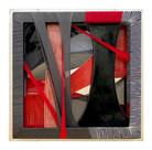 Misson,fabric,ceramic,frames,acrylic,52.5(w)x52.5(h)x9.5(d)cm,2020
