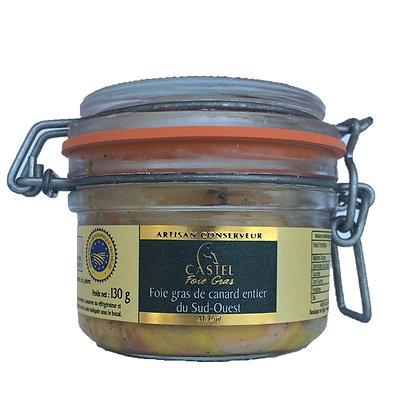 "Foie gras de canard du Sud-Ouest ""Mi-Cuit"""