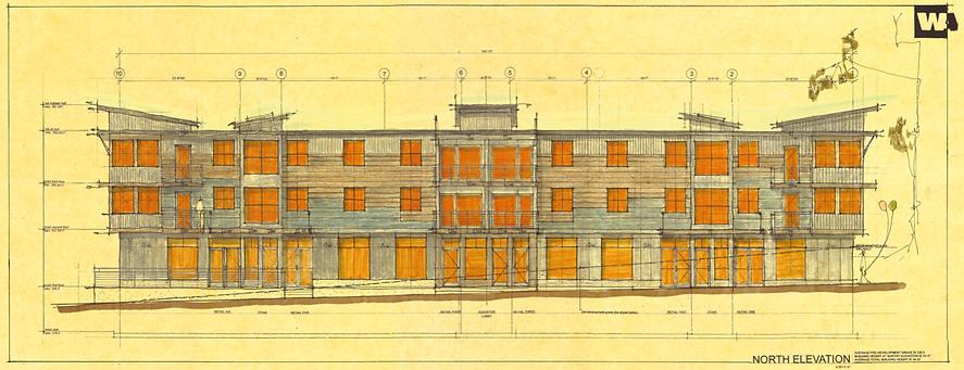 Richmond Creamery Building #2 Sketch