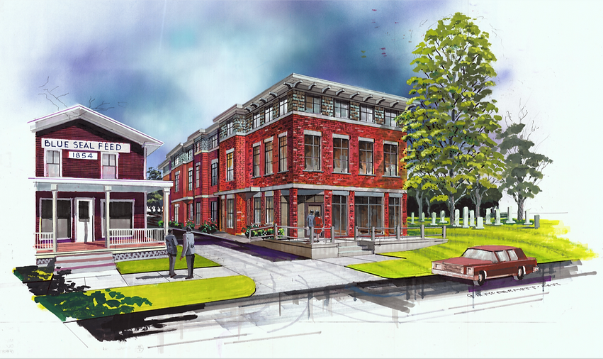 Richmond Creamery - Building #1 Rendering