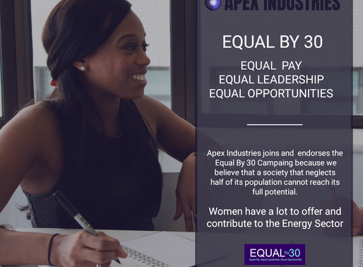Apex Industries joins Equal by 30 Campaign