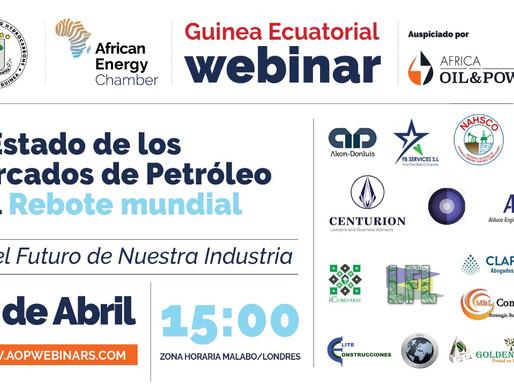 """Webinar """"El Estado de los mercado de petróleo y el Rebote Mundial"""""""