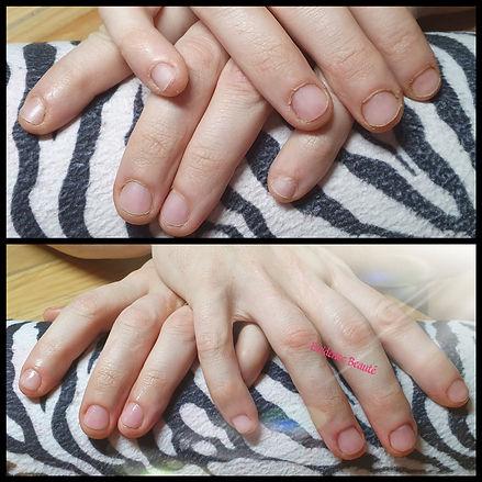 Beauté mains cuticule limage huile vernis soins