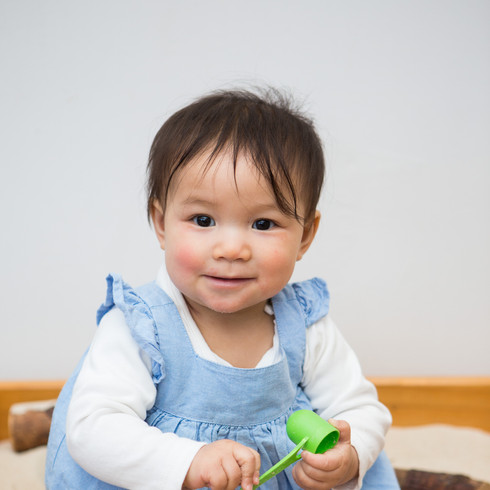 baby girl melbourne daycare photography