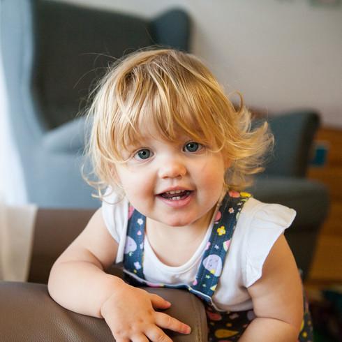 toddler girl melbourne daycare photograp