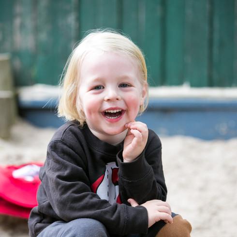 prekinder three year old boy smile melbo
