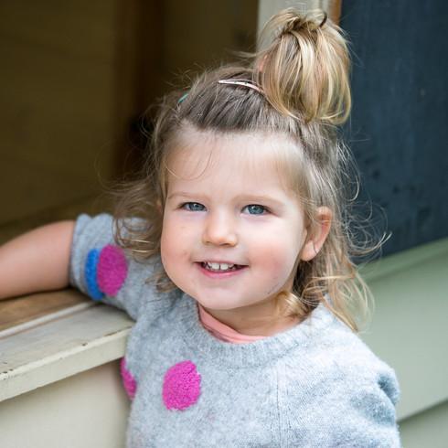 toddler girl melbourne daycare spotty ju