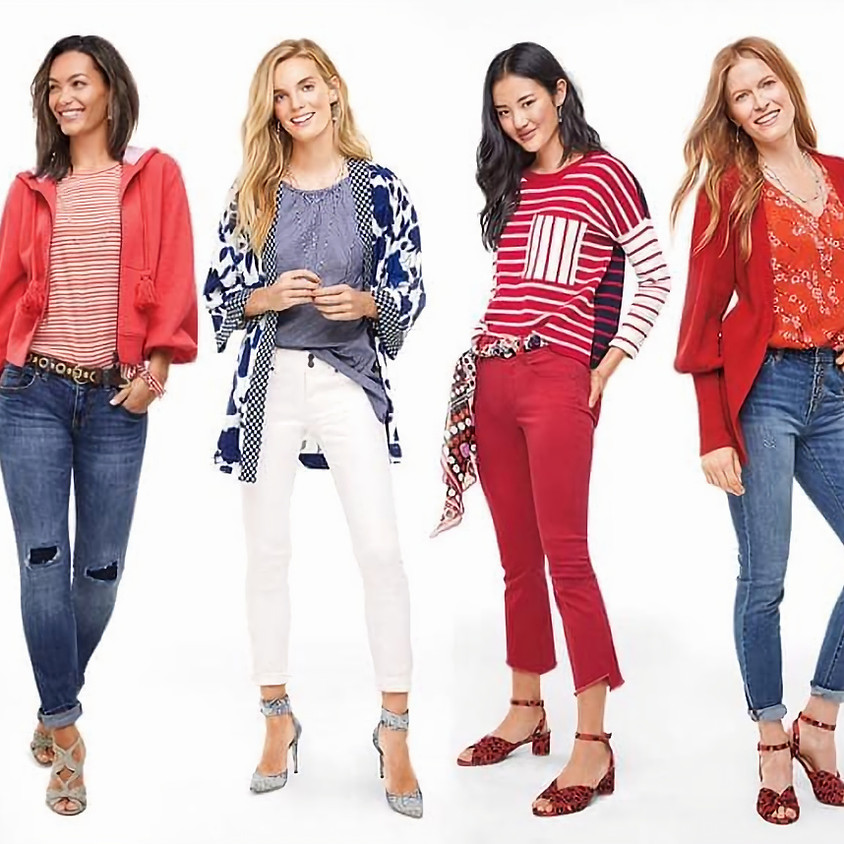 Happy Hour + Cabi Spring fashions