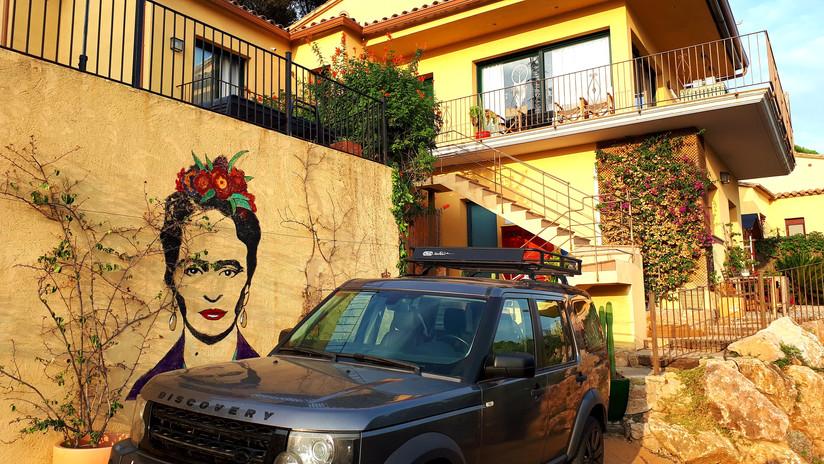 Frida Kahlo entree