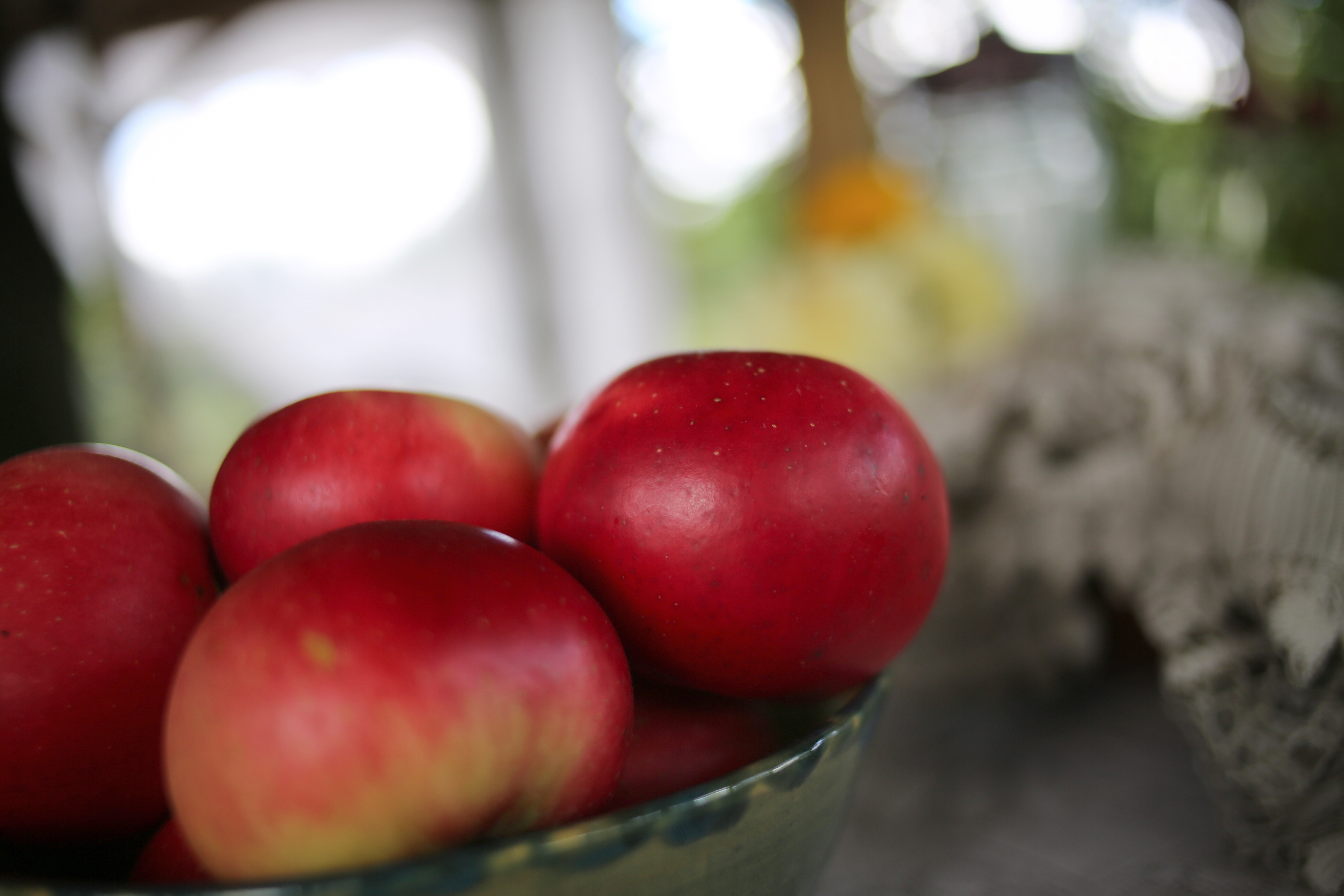 apples from our trees