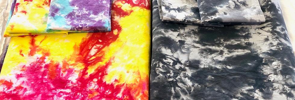 Custom Dyed Duvet Cover + Shams