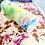 Thumbnail: Custom Dyed Velvet Pillow