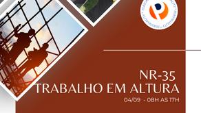 NR-35 Capacitação para Trabalhadores Autorizados em Altura