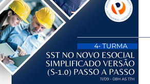 SST no Novo eSocial Simplificado Versão (S-1.0) - Passo a Passo { 4º TURMA