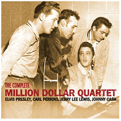 CD - Million Dollar Quartet Jam Session