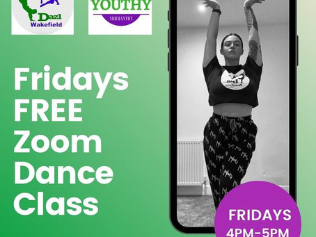 FREE ONLINE STREETDANCE CLASSES