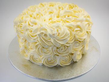 Vanilla Floret Cake